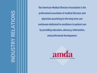 The AMDA Exhibit  Marketing Prospectus will be available in June