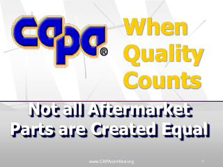 CAPAcertified