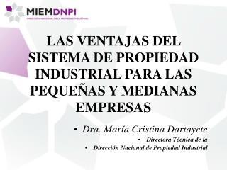 LAS VENTAJAS DEL SISTEMA DE PROPIEDAD INDUSTRIAL PARA LAS PEQUE AS Y MEDIANAS EMPRESAS