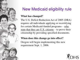 New Medicaid eligibility rule