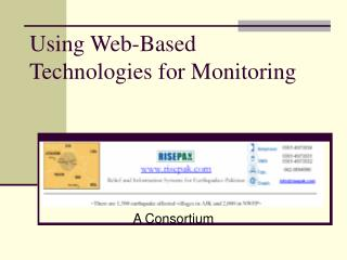 Using Web-Based Technologies for Monitoring