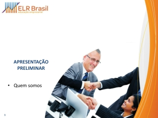 Apresentação ELR Brasil