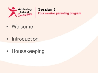 Helping Parents Get Behaviour in Shape at Home