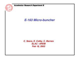 Accelerator Research Department B