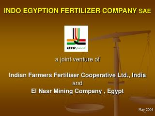 INDO EGYPTION FERTILIZER COMPANY SAE