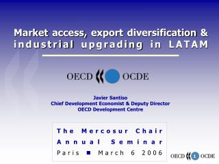 Market access, export diversification  industrial upgrading in LATAM