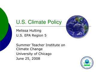 U.S. Climate Policy