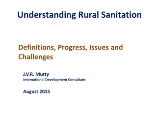 Community-Led Total Sanitation CLTS  Challenges