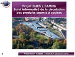 Projet EMCS