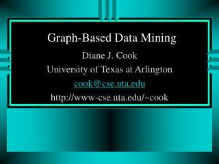 Graph-Based Data Mining