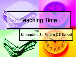 Teaching Time