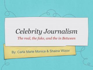 Celebrity Journalism