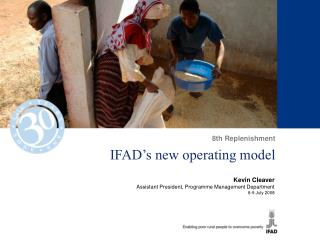 IFAD s new operating model