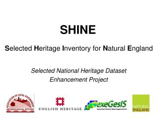 SHINE   Selected Heritage Inventory for Natural England