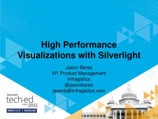 High Performance Visualizations with Silverlight