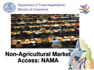 Non-Agricultural Market Access: NAMA