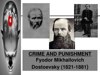 CRIME AND PUNISHMENT Fyodor Mikhailovich Dostoevsky 1821-1881