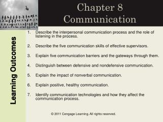 Chapter 8 Communication