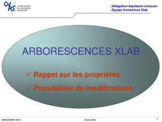 ARBORESCENCES XLAB