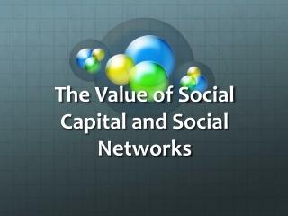 Social Networks  Career Development