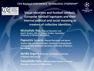 Visual identities and football symbols. European football logotypes and their internal political and social meaning as c