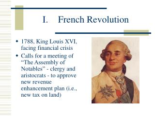 I. French Revolution