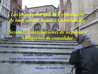 Vicente Condor L pez Catedr tico Econom a Financiera y Contabilidad