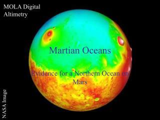 Martian Oceans