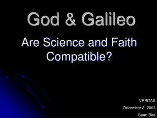 God  Galileo