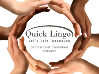 Quick Lingo - Professional Translation Services