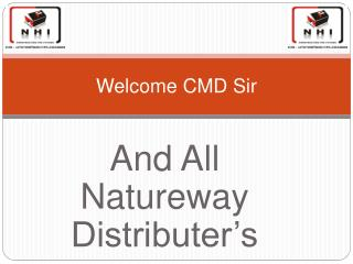 Welcome CMD Sir