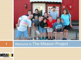 Welcome to The Mission Project