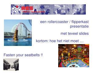 Een rollercoaster