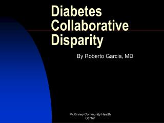 Diabetes Collaborative Disparity