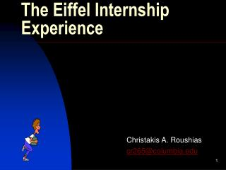 The Eiffel Internship Experience