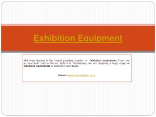 Exhibition Equipments