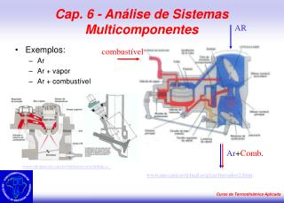 Cap. 6 - An lise de Sistemas Multicomponentes