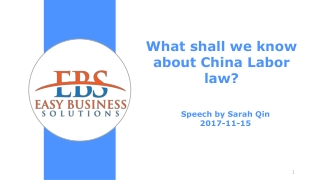 Start Your Business in China
