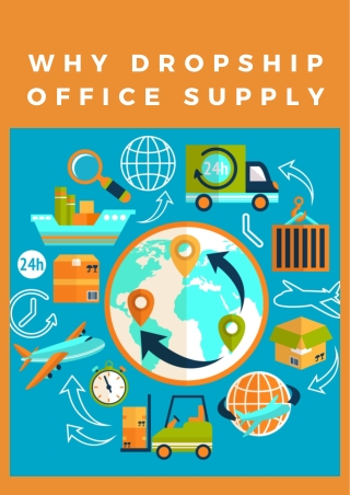 Why Dropship Office Supply