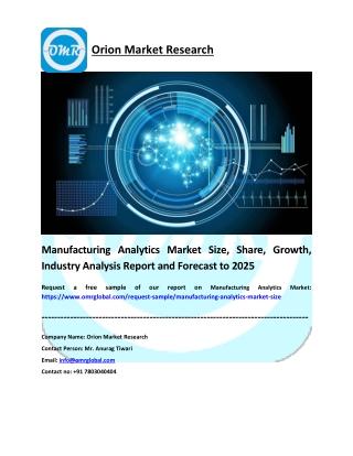 Manufacturing Analytics Market
