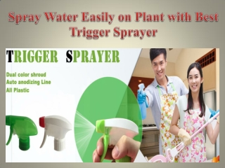 Spray Water Easily on Plant with Best Trigger Sprayer