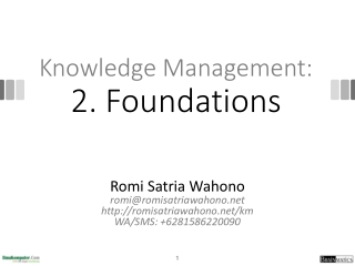 Lesson 8-Knowledge  Management