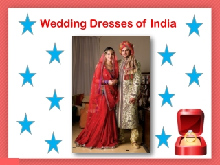 Wedding Dresses of India