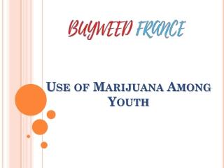 Use of Marijuana Among Youth