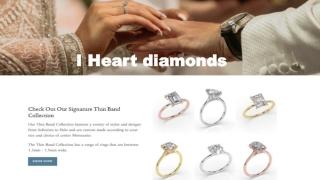 Hidden Halo Engagement Rings | I Heart Diamonds