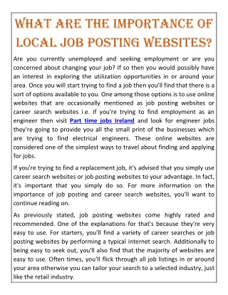 Full time jobs in Ireland | Seemycv.ie