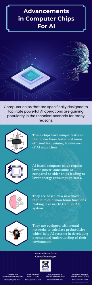 Advancements in Computer Chips For AI