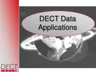DECT Data Applications