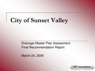 City of Sunset Valley