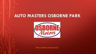 Auto Masters Osborne Park